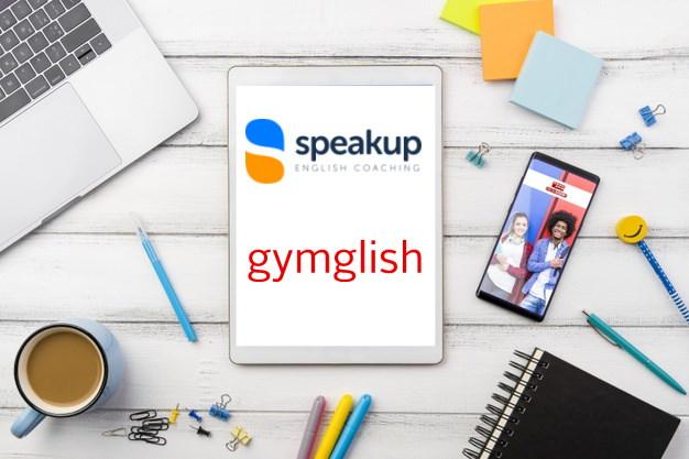 Blending learning SpeakUp English Coaching et Gymglish